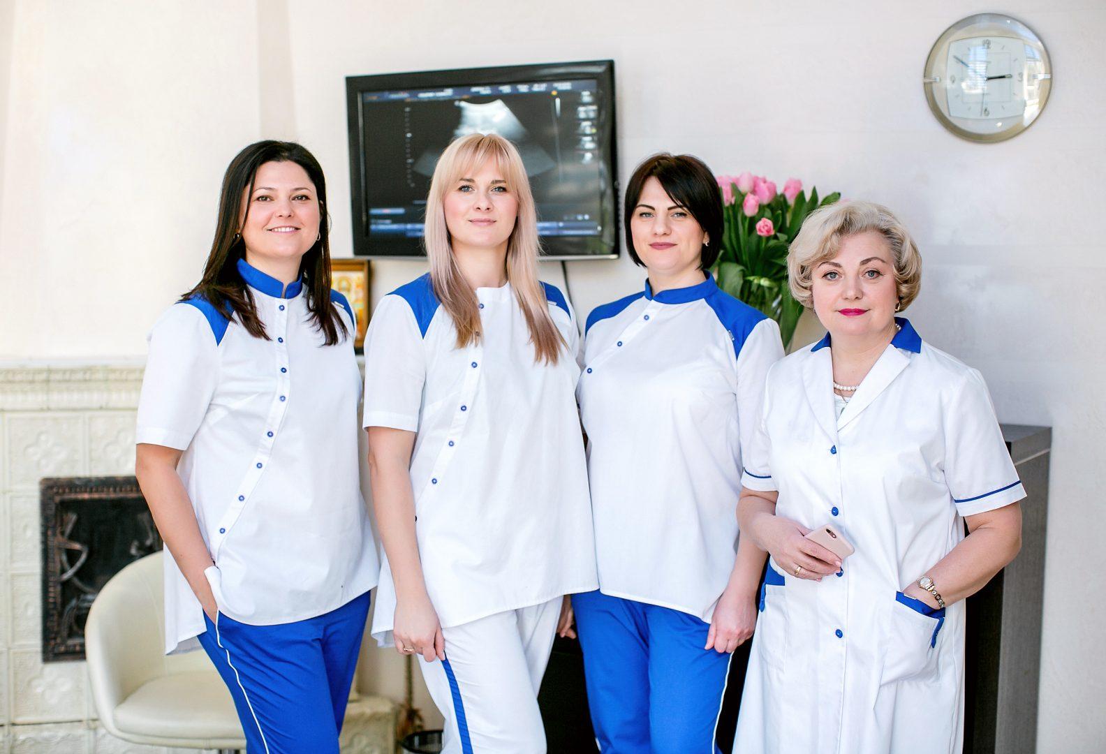 Висококваліфікована команда лікарів